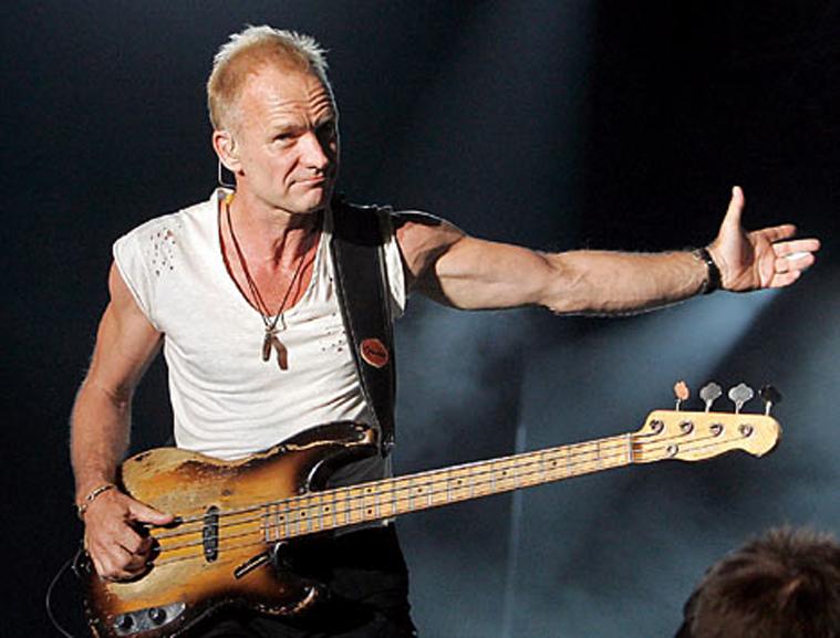 концерт Sting в олимпийском 25 июля