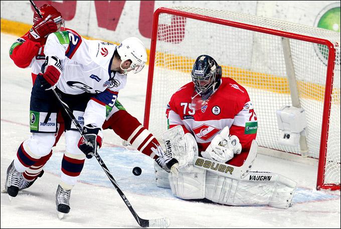 хоккей Спартак - Сибирь