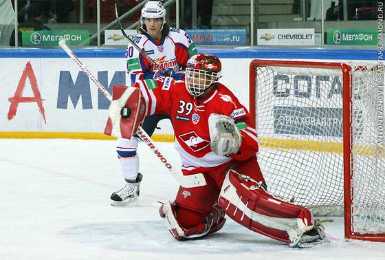 хоккей Спартак - Метеллург