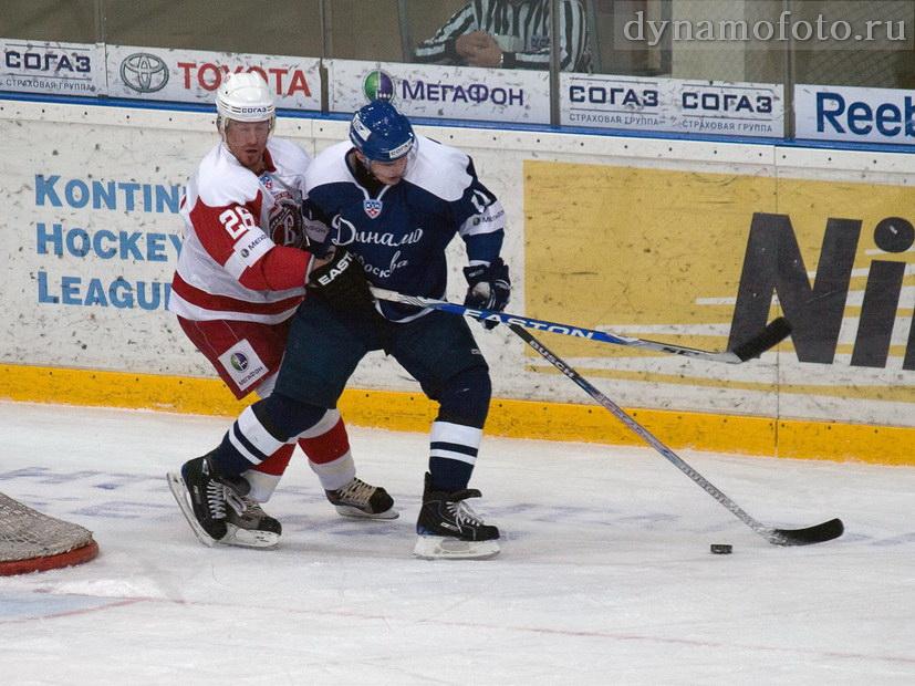 хоккей Динамо М - Витязь