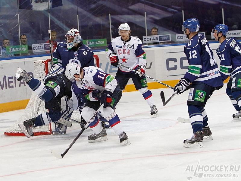 хоккей Динамо М – СКА