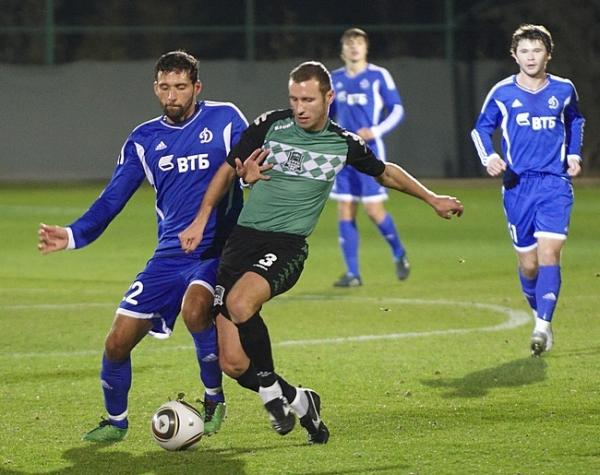 футбол Динамо - Краснодар