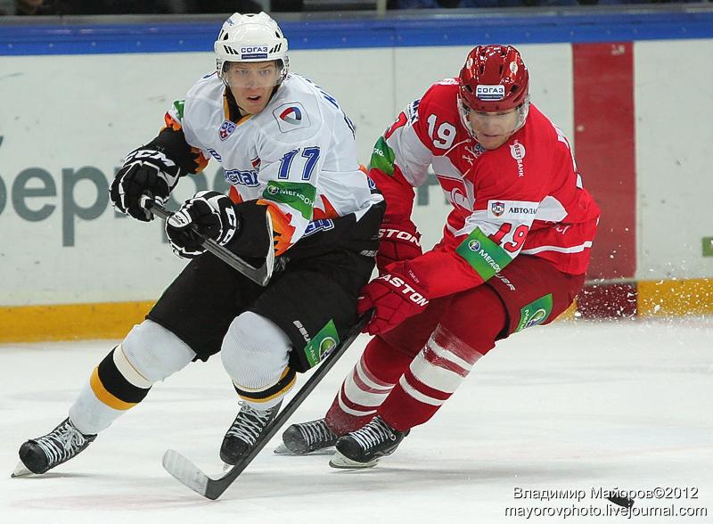 хоккей Спартак - Северсталь