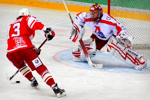 хоккей Спартак-Локомотив