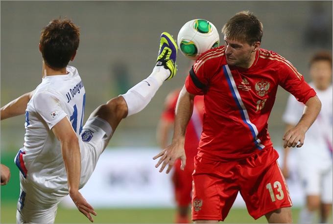 17 июня футбол россия южная корея