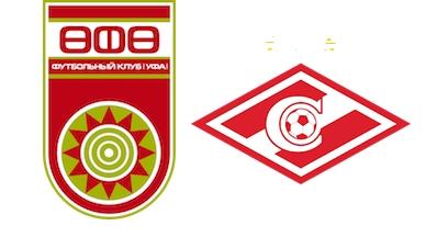 Стоимость билетов на футбол Спартак - УФА